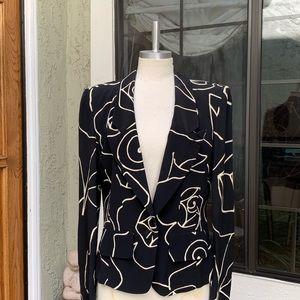 SONIA RYKIEL Vintage Blazer Rayon Size 40